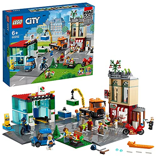 LEGO 60292 City Le Centre-Ville, Jeu de Construction avec Mo