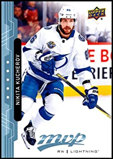 f0859fdd3 2018-19 Upper Deck MVP Blue Factory Set Hockey #216 Nikita Kucherov Tampa  Bay