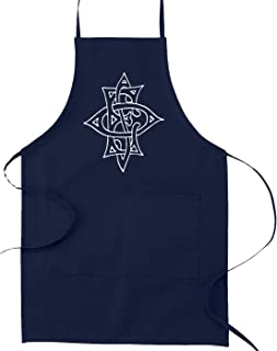 Order of The Eastern Star Masonic Cooking Kitchen Apron - [Navy Blue]