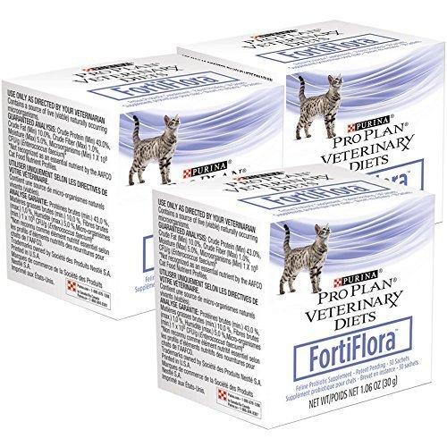Purina Fortiflora 30 Gm Pro Plan Probiotics Diets Pack
