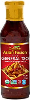 Asian Fusion General Tso Sauce, 15 Ounce - Non-GMO, Organic Certified, Kosher & Gluten Free