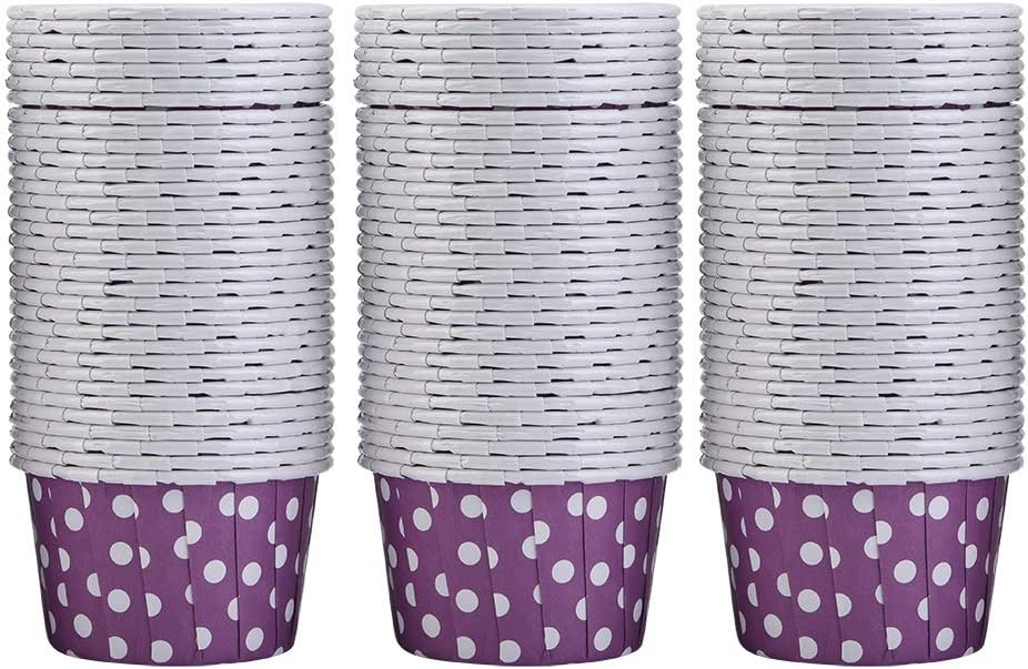 NEW before selling 100PCS Mini Super special price Paper Baking Cups Cupcake Liners Cake C Muffin Round