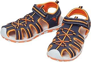Max Boy's Tan Outdoor Sandals-1 Kids UK