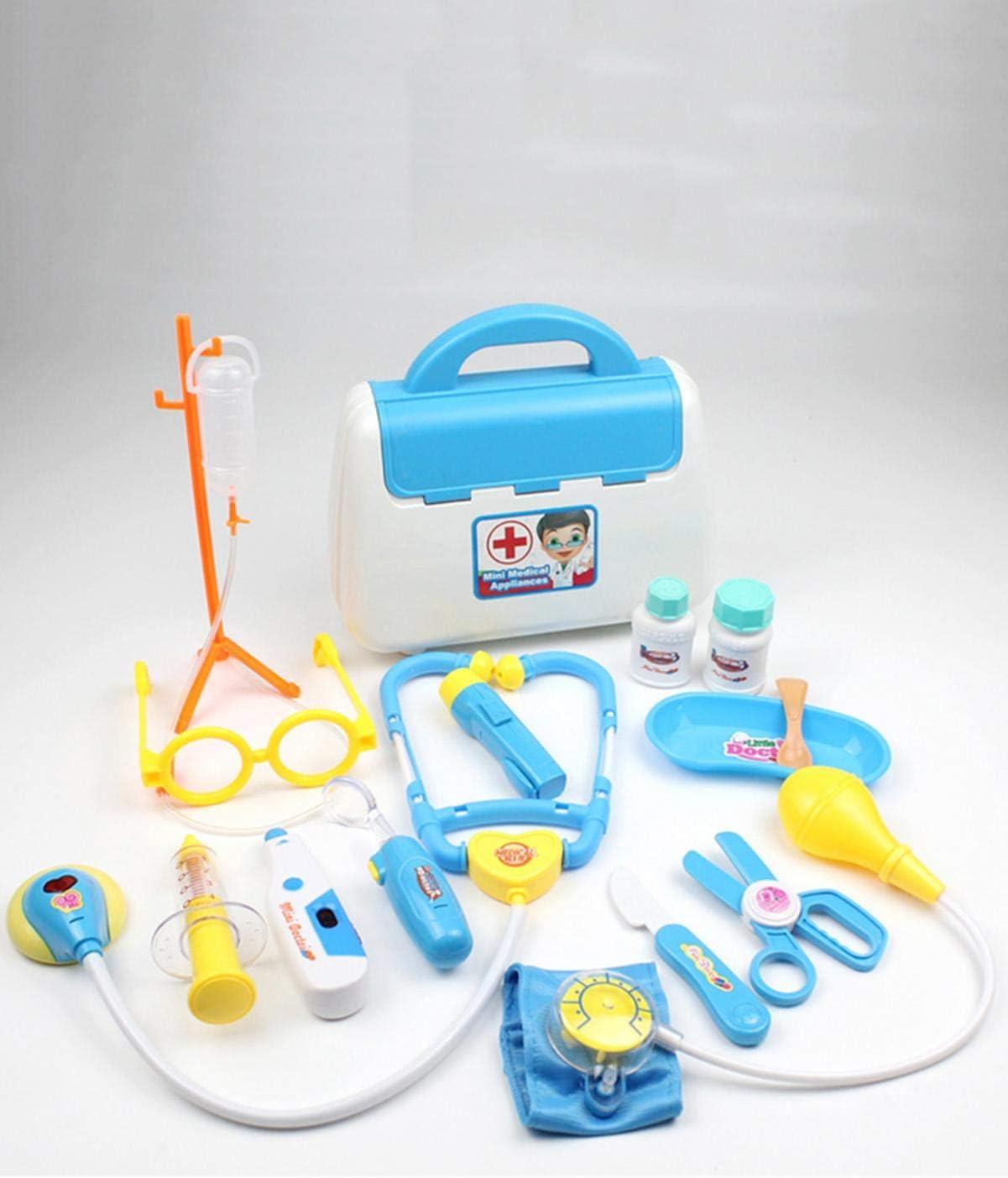 Malette Valise Docteur Enfant Jouet Jouets Pour Enfants Kit De M/édecin Dentiste Outils De Jeu De R/ôle M/édical Pour Enfants Cadeaux De Vacances De No/ël