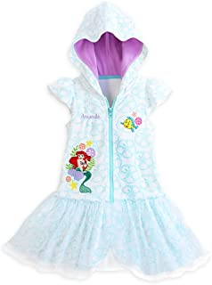 2d93e2525eb46 Disney Store Princess The Little Mermaid Ariel Girl Swimsuit Cover Up (4)
