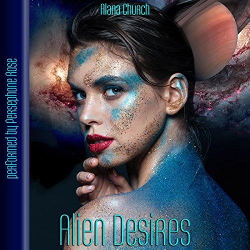 Alien Desires audiobook cover art