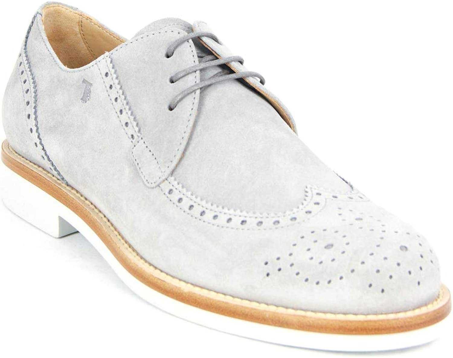 Tod's Men's All.BUCATURA Shoes Leather Oxfords Sneakers, Glasse