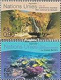 Prophila Collection Naciones Unidas - Ginebra 361-362 (Completa.edición.) 1999 Cultura- y Patrimonio Natural (Sellos para los coleccionistas) paisajes