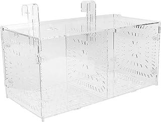 SALUTUYA Acrylmaterial Aquarium Zuchtbox Aquarium Reproduktionsbox für verletzte, kranke Fische(30CM*15CM*15CM)