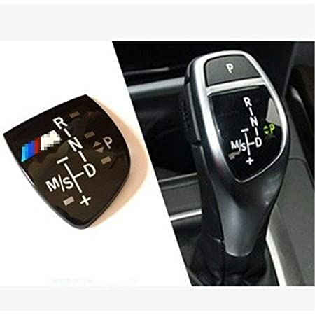 X AUTOHAUX Car Gear Shift Knob Panel Cover Stickers Silver Tone for Audi Q3 2019-2020