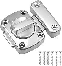 Kissral Lock voor Deur Latch RVS Lock Hasp Bout voor Cupboard Gate Outdoors Slaapkamer Voordeur Van toepassing op diverse ...