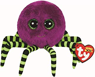 Ty Beanie Boo Crawly - Purple Spider 6