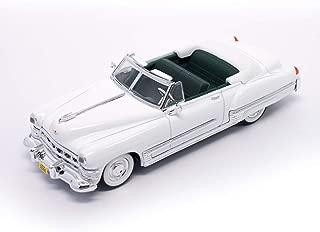 Road Signature 94223W 1949 Cadillac Coupe De Ville White 1/43 Diecast Model Car