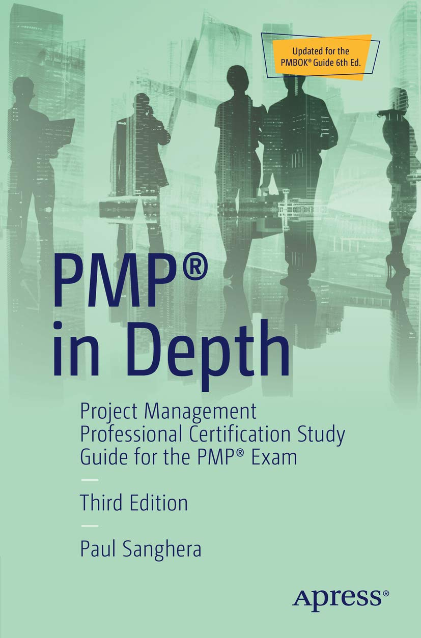 Image OfPMP® In Depth: Project Management Professional Certification Study Guide For The PMP® Exam