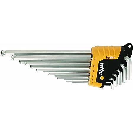 150 mm 1//8 mm 334 inch Wiha allen wrench with cross handle,