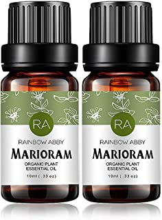 2-Pack Marjoram Essential Oil 100% Pure Oganic Plant Natrual Flower Essential Oil for Diffuser Message Skin Care Sleep - 10ML