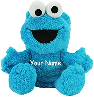 Personalized Cookie Monster Character My Pet Blankie Plush Blanket Toy for Boys or Girls with Custom Name