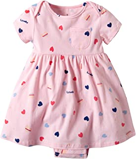 cf97dbb1b1035 Bébé Fille Robe de Baptême Princesse Robes Nouveau-né Manches Courtes  Vêtements Fête D