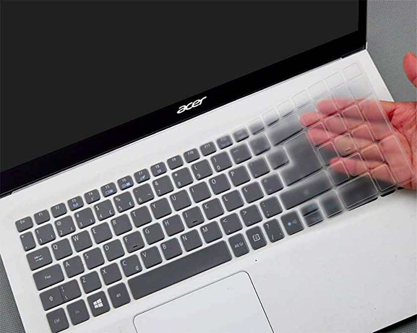 Ultra Thin High-Grade Clear Keyboard Cover for Acer Aspire E 15 E5-576G E5-575/Acer Aspire R 15 R5-571TG/F15 F5-573G/V15 VN7-592G/Acer Aspire A315 A515 A715/17.3