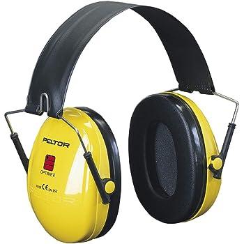 Casque antibruit 3M™ PELTOR™ Optime™ I H510F-404-GU - Jaune- Serre-tête pliable