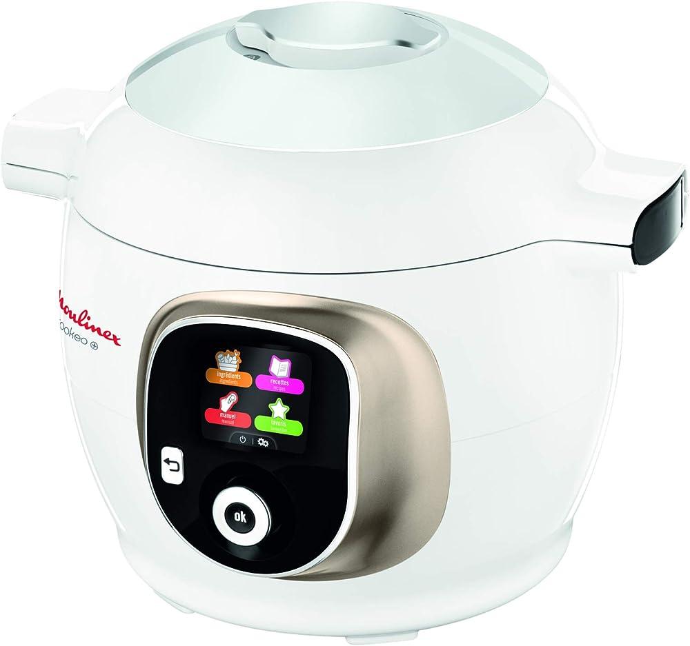 Moulinex, robot multifunzione da cucina, cottura al vapore, cottura lenta, 150 ricette italiane pre-impostate ?CE851A10