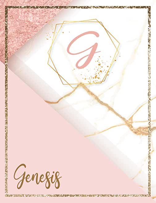 Genesis: Personalized Name Journal for Women and Girls To Write In | Customized Notebook With Customized First Name For Holiday Gifts Ideas for Women, Mom, Sister, Wife & Girlfriend