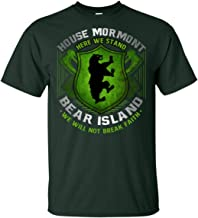 Here We Stand We Will Not Break Faith T-Shirt for Mormont House Lover | Bear Island Tee Shirt