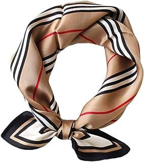 """مربع کوچک مردانه JERLA 100٪ روسری ساتن ابریشمی توت واقعی واقعی روسری سر صورت 21 """"x 21"""""""