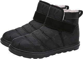 Clenp 1 paire de bottes de neige antidérapantes pour homme et femme