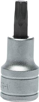 "Chrome Vanadium TX Socket Bit TX30 Teng Tools M121230T-C1//2/"" Drive"