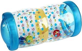 Volwco Rodillo Inflable Recién Nacido Baby Roller con Bola de Campana para Gatear y pararse Ejercicio y Entrenamiento Pasos para bebés Roller Musical
