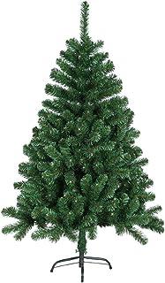 comprar comparacion HENGMEI 240cm Artificial Árbol de Navidad Decoración Navideña, Material PVC, Verde con Soporte en Metal