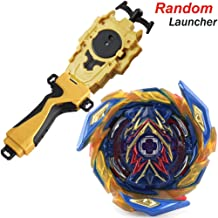 Dwin Bey Battle Evolution Blade Turbo Random Gold String Launcher Grip God Bay B-163 Booster Brave Valkyrie Ev'2A Starter Set Games Accessories Bey Burst Gaming Top Battling Spinning for Boys