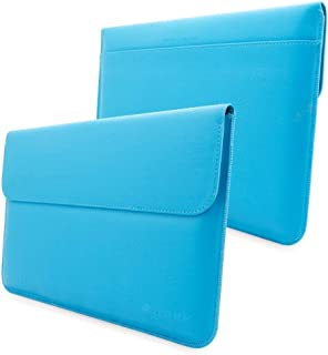 Surface Pro, Pro 4 and Pro 3 Sleeve, Snugg - Blue Leather Sleeve Case Protective Cover for Surface Pro, Pro 4 and Pro 3