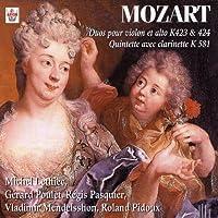 Duos Pour Violon Et Alto/K.423 Et by Gerard Poulet