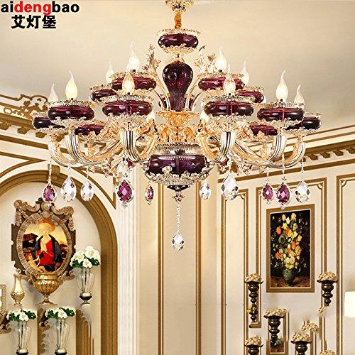 Moderna vägglampor vintage luff vägglampor ljuskrona vinröd LED zinklegering jade ljuskrona vardagsrum matsal med sovrum hängande + LED lampa högsta köp vägglampa