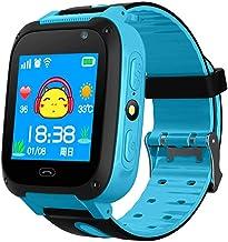 yankai 4G Smart Horloge voor kinderen, 1.2 inch oproephorloge, IPX6 waterdicht, energiebesparende zaklamp, GPS-positioneri...