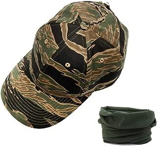 tiger stripe trucker hat