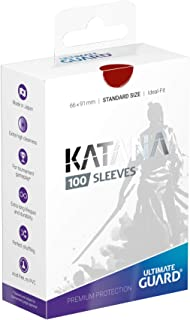 Ultimate Guard Katana Sleeves Standard Size Red (100)