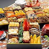 博多久松 和洋折衷本格料亭おせち 博多 特大8寸3段重 全46品 おせち料理 お届け日(2021年12月30日)着