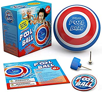 The Ultimate Pool Ball - You Fill This Ball with Water to Play Underwater Games - Dribble Off The Bottom & Pass Under Water for Endless Fun - Best Pool Toys for Kids Ages 8-12 & Gifts for Boys & Girls