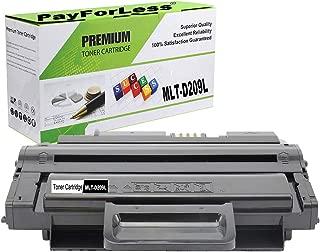 PayForLess Compatible MLT-D209L 209L Toner Cartridge Black 1PK Replacement for Samsung ML-2855nd SCX-4826fn SCX-4828FN SCX-4824 SCX-4825FN