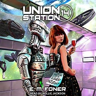 LARP Night on Union Station audiobook cover art