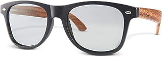 LEMIEL® - ECO occhiali da sole - custodia ed occhiali in legno vero - polarizzati - Donna e Uomo - PIANTA UN ALBERO