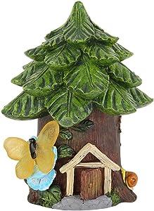 idalinya Estatuas Al Aire Libre Resina Simulado Animal JardíN Estatua Escultura Al Aire Libre CéSped Escena del JardíN BalcóN DecoracióN Arte DecoracióN Interior Al Aire Libre Hogar(casa del árbol)