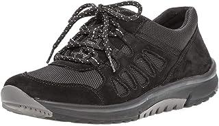 Gabor Rollingsoft halfschoenen in grote maten zwart 96.995.47 grote damesschoenen