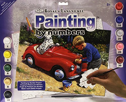 Royal & Langnickel PJL31 Peinture au numéro 11\