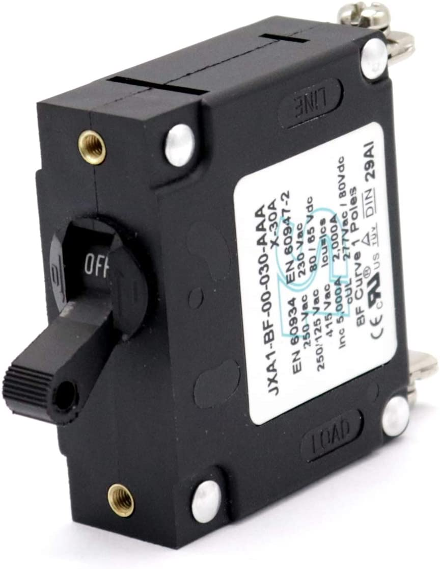 T Tocas Special price 30A Toggle Single Circuit Ranking TOP19 Pole Breakers Hydraulic Magnet
