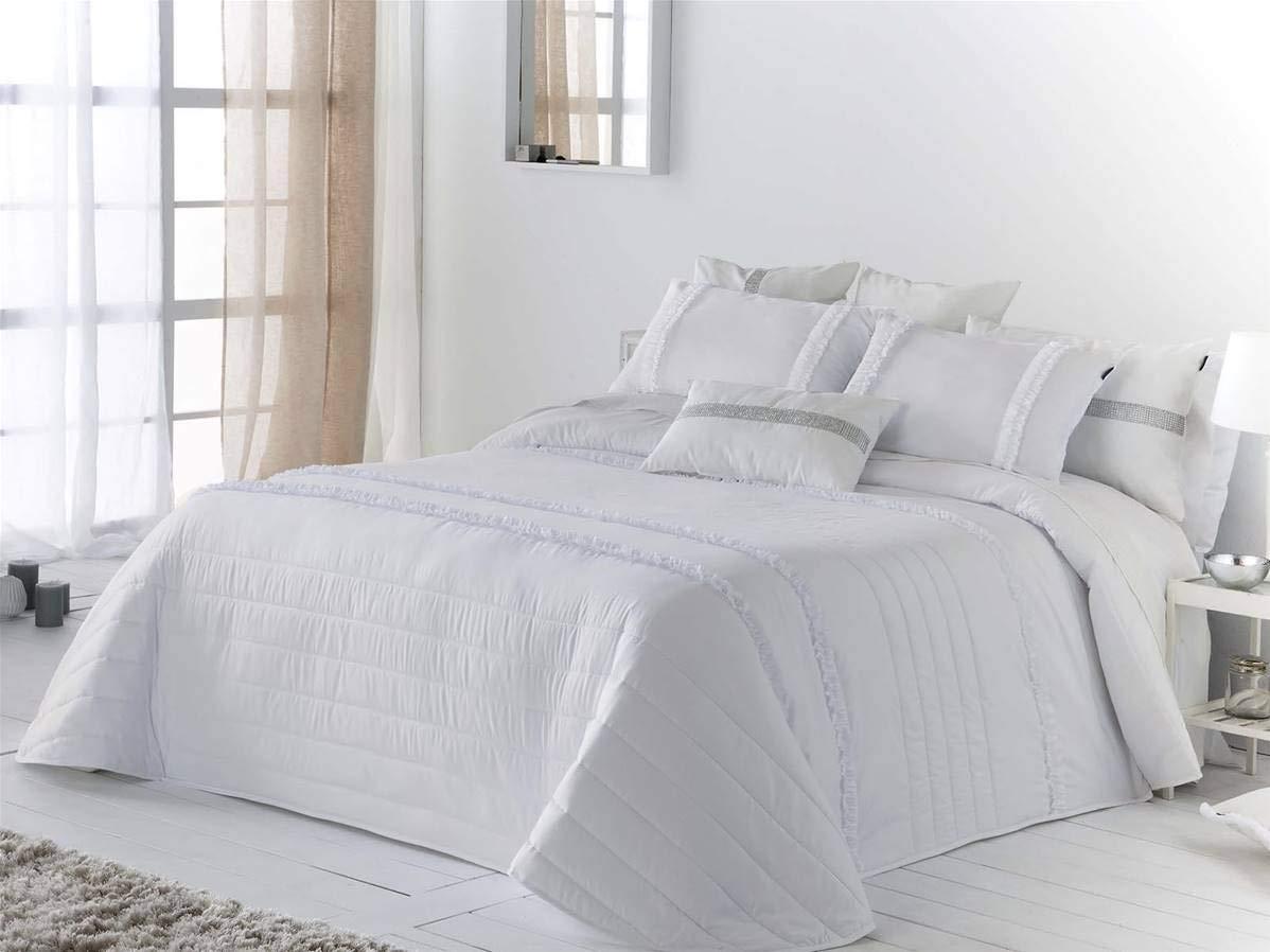 Antilo Colcha Bouti Elba Cama 150 Cm Color Blanco
