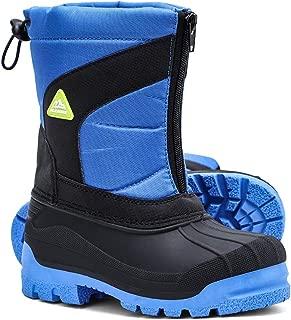 ALEADER Boys & Girls Mid Calf Waterproof Winter Snow Boots Little Kid/Big Kid
